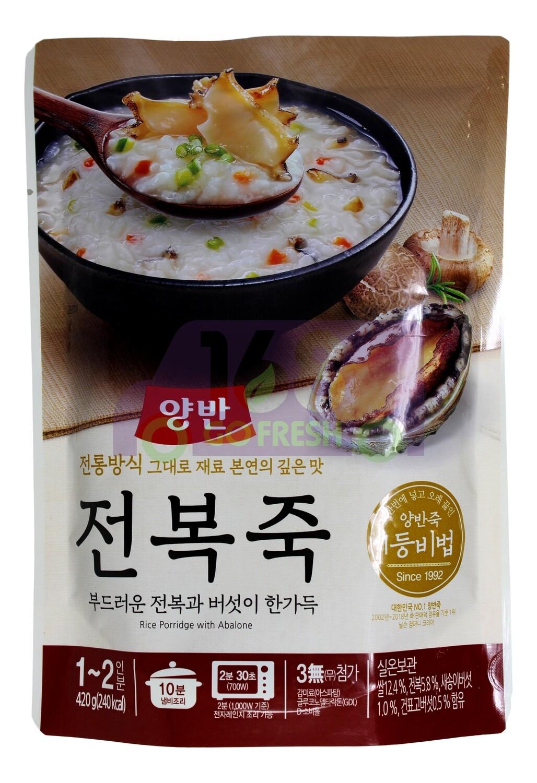 RICE PORRIDGE WITH ABALONE 韓國產 即食鮑魚粥(420G)