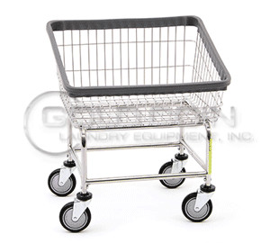 R&B Wire Front Load Laundry Cart Model 100T