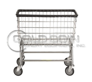 R&B Wire Large Laundry Cart Model 200F