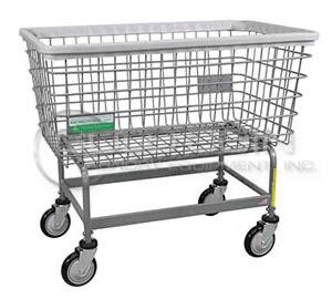 #201HANTI Large Antimicrobial Laundry Cart