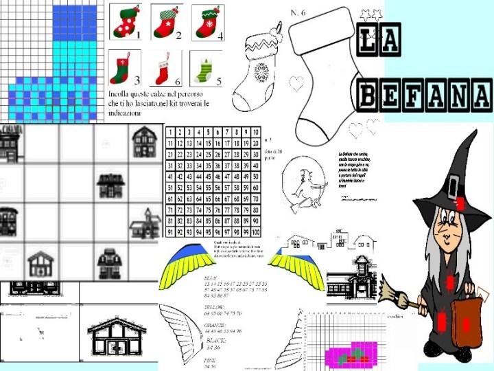 LABORATORIO LA BEFANA, 14 PAGINE TOTALI. coding e pixel art 00001