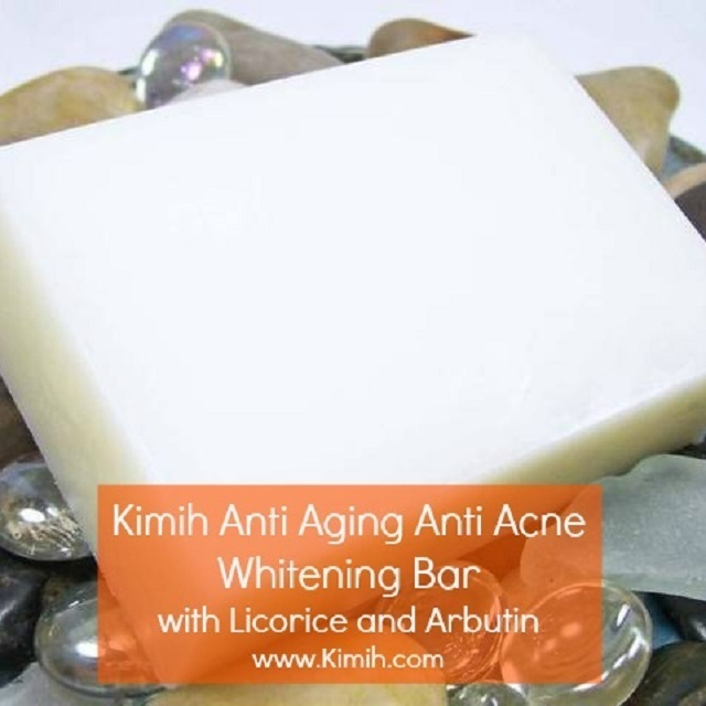 Anti Aging Anti Acne Whitening Bar with Licorice and Arbutin 170g 00003