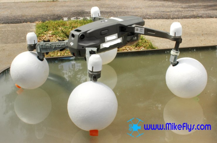 Mavic 2 Pro/Zoom Float Kit Smooth Styrofoam floats. M2H