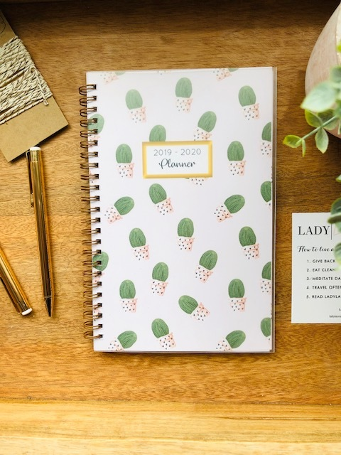 Pink Cactus 2019 Lifestyle Planner 1