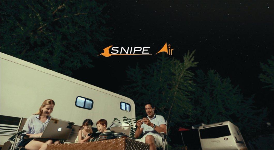 Snipe AIR - Parabol För Husbil, Husvagn, Hemmet