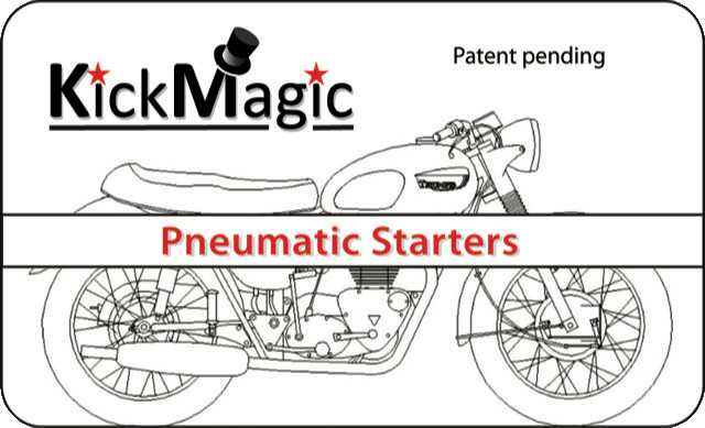 KickMagic Triumph Pneumatic Starter Kit for 1971-1974 OIF