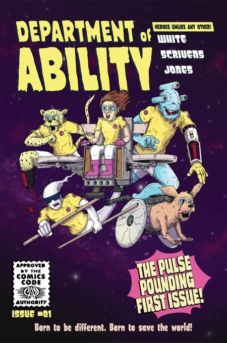 Department Of Ability Comic