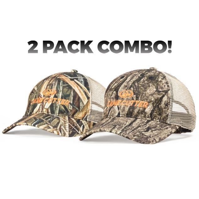 2 Pack COMBO Ridgetop Meshback Camo Cap COMBO-RMC0100-KABS