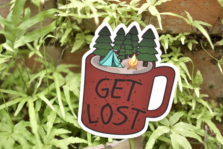 Get Lost Sticker 00003