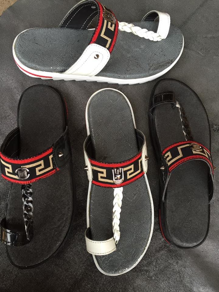 Designer Leather Slippers