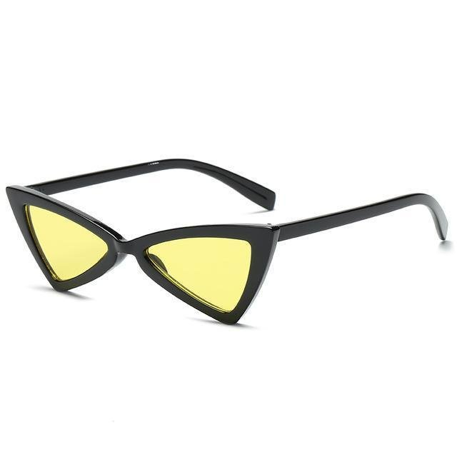 Triangle Sunglases_yellow