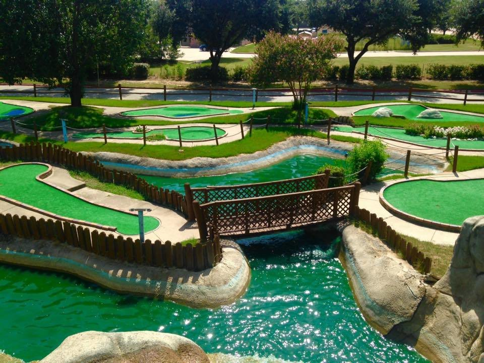 Round of Miniature golf for two