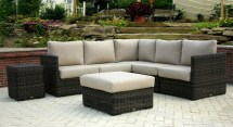 greenville sectional outdoor wicker