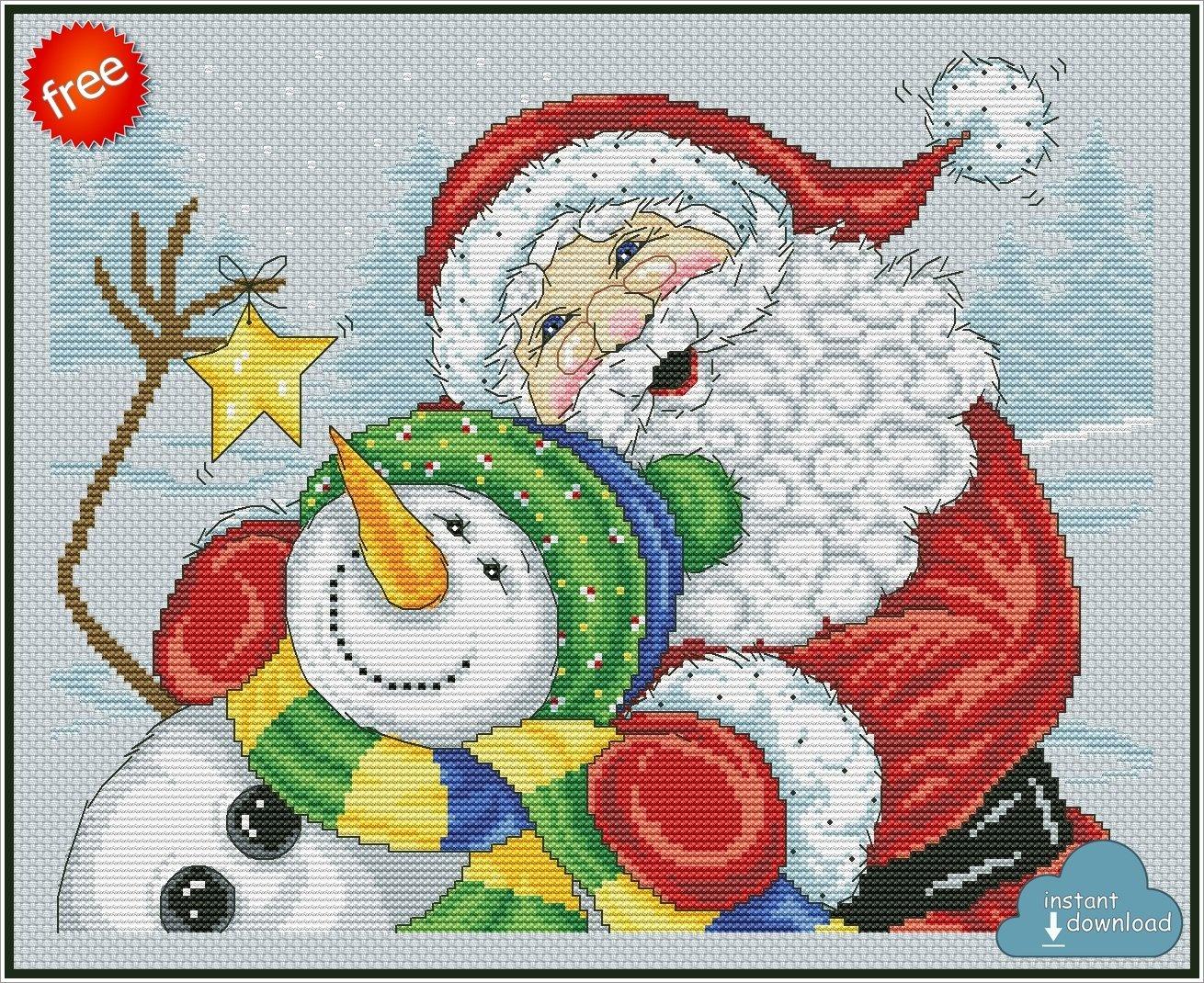 Merry Christmas Cross Stitch Pattern Xsd Download
