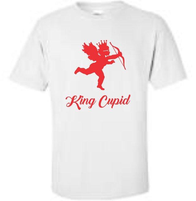 King Roscoe Valentine T-Shirt King Cupid