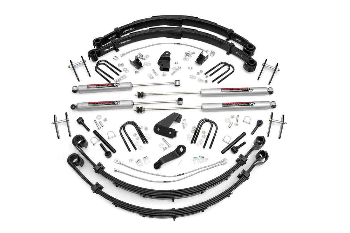 Rough Country 6 Inch Jeep Suspension Lift Kit For 1987