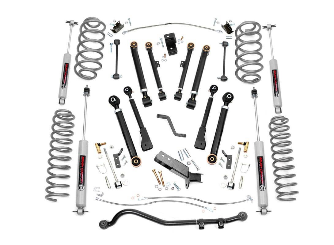 Rough Country 4 Inch Jeep X Series Suspension Lift Kit For