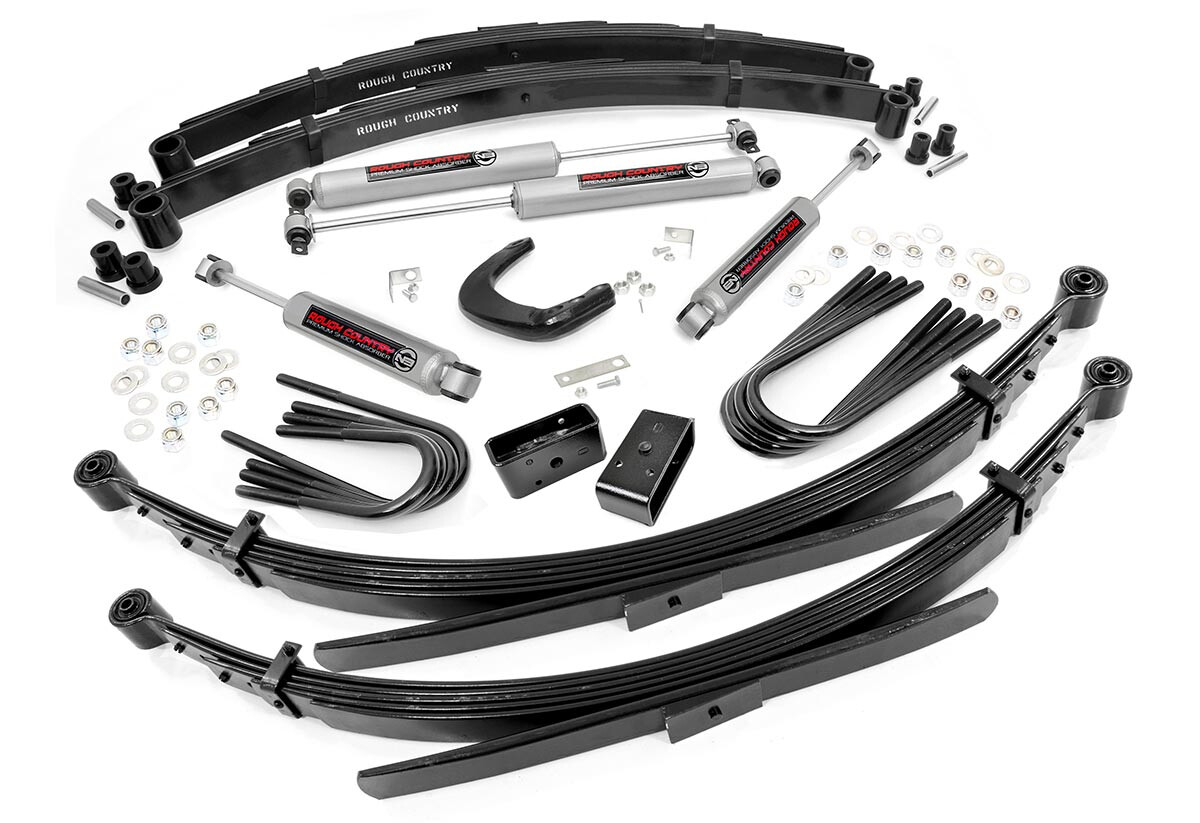 Rough Country 6 Inch Gmc Suspension Lift Kit With 56 In