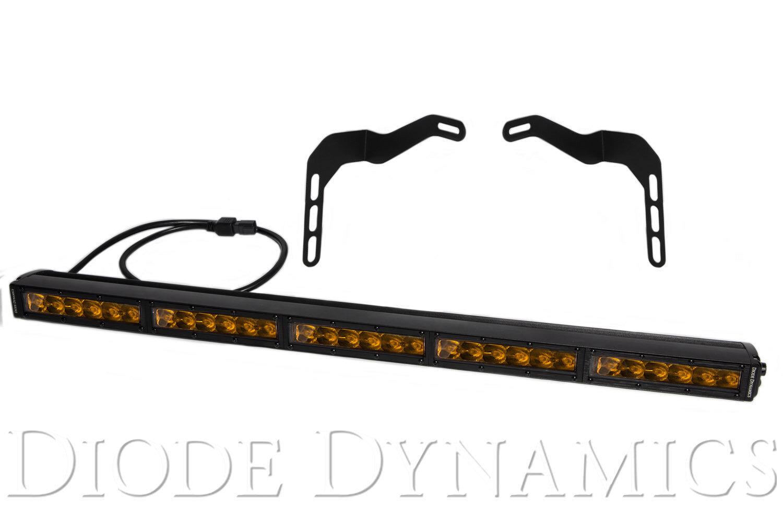 Tundra 30 Inch Led Lightbar Kit Amber Driving Stealth