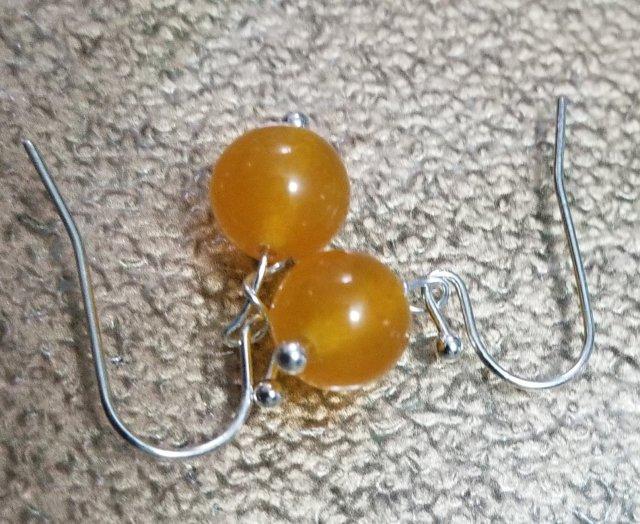 Citrine Chakra Earrings