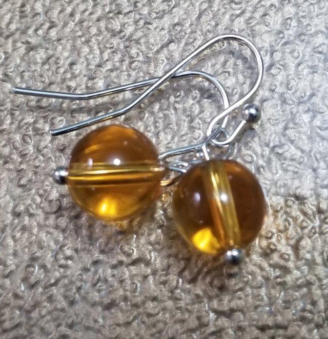 Topaz Chakra Earrings