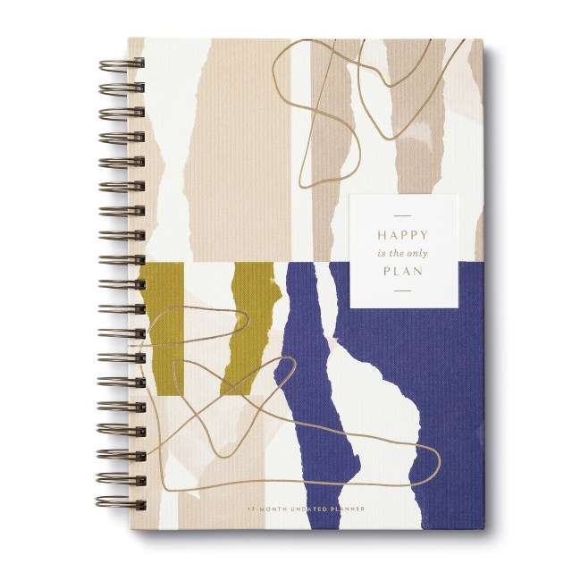 Happy Is The Only Plan Undated Planner