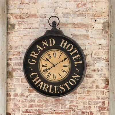 Grand Hotel Charleston Wall Clock