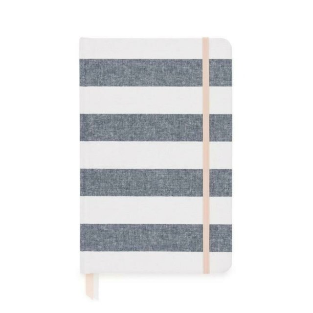Chambray Stripe Cloth Journal