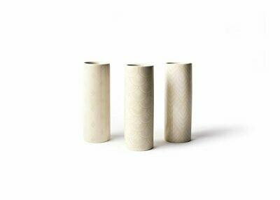 Blush Tube Vase Set/3
