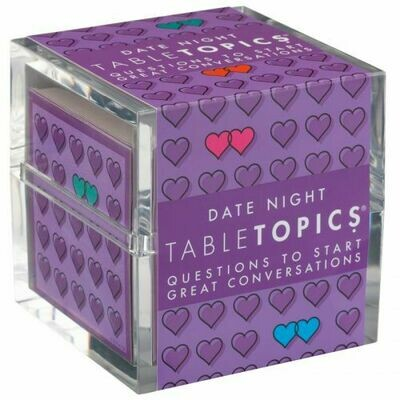 Date Night Table Topics Conversation Cards