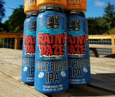 Goat Boater IPA 16oz Cans
