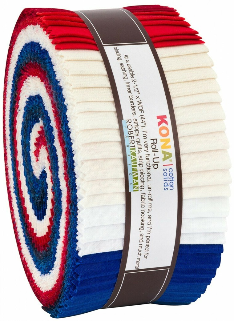 RU-779-40 Patriotic Jelly Roll