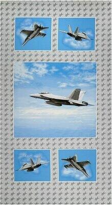 Fighter Jet Panel E4281P-11