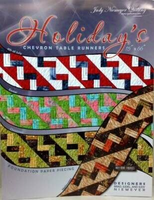 Holiday's Chevron Table Runner