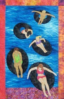 Floating Along Pattern