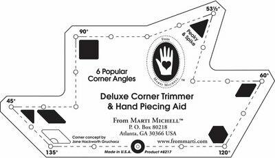 Corner Trimmer Ruler