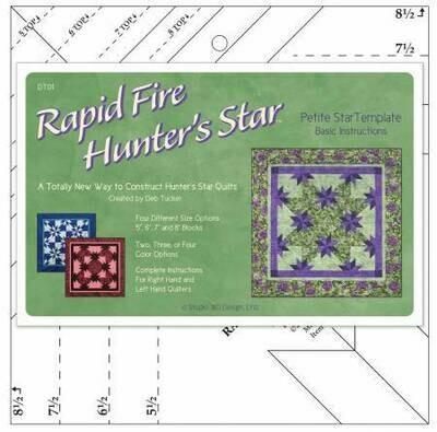 DT01w Petite Hunter Star Ruler