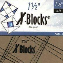 X Blocks- 7 1/2 Block