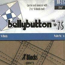 X Blocks- 7 1/2 Button Block