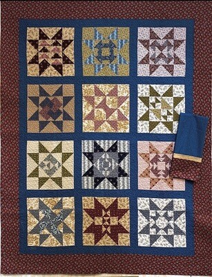 Civil War Sampler 53x66 W/PC