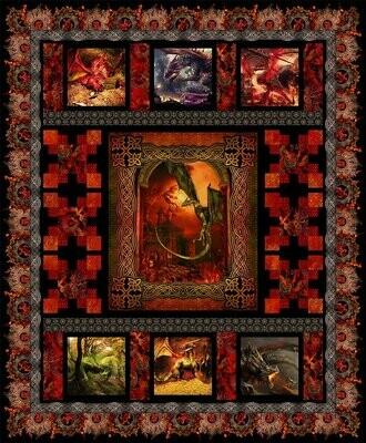 Dragon Quilt Kit