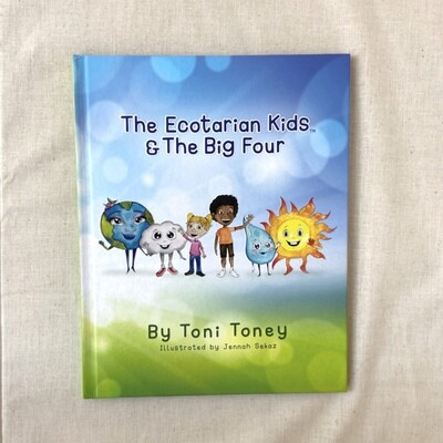 The Ecotarian Kids & The Big Four Book