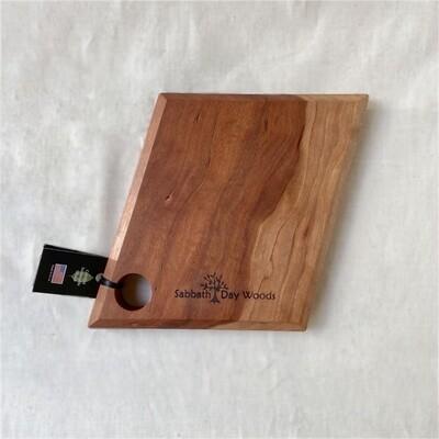 Sabbath-Day Woods Facet Cutting Board