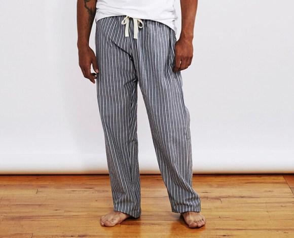 Coyuchi Men's Pajama Pant- Indigo