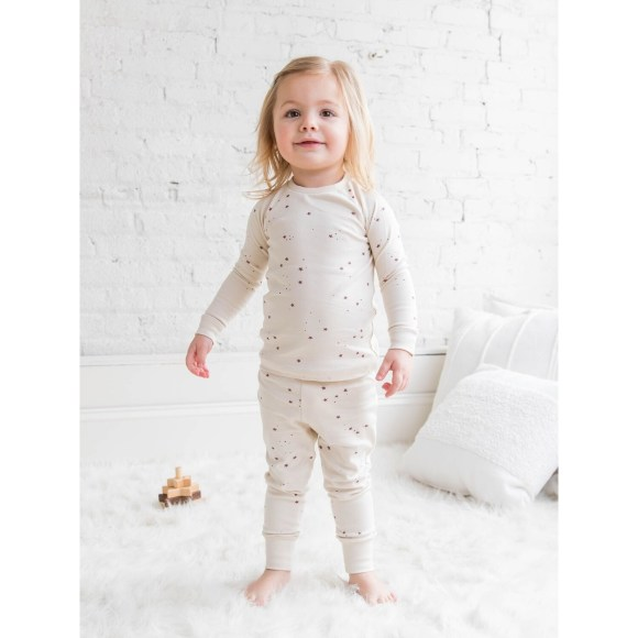 Colored Organic Jammies - Starry