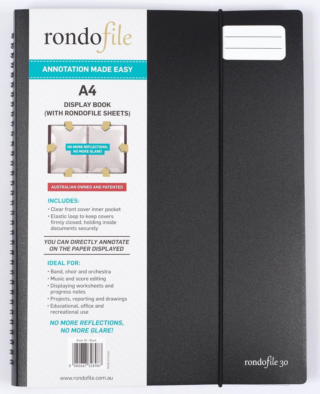 Rondofile 30 Display Book 30 Sheets