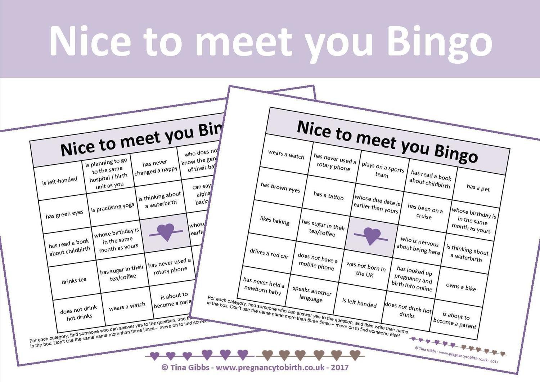 People Bingo People Bingo Twins