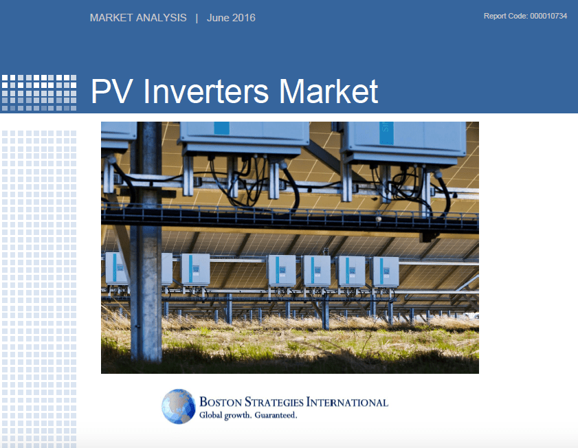 PV Inverters Market - Operations & Technology Section 10746