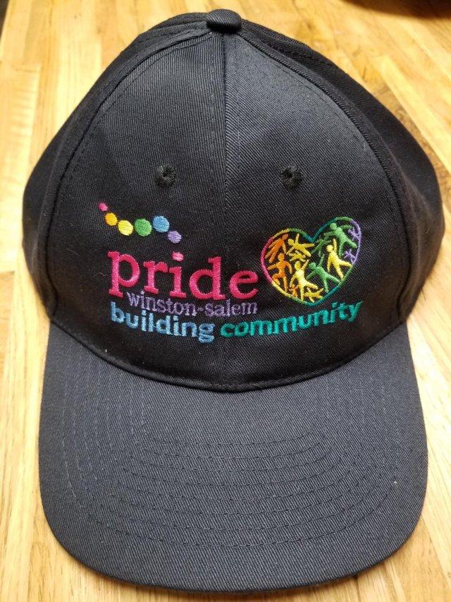 Pride Winston-Salem Baseball Hat (BLUE) 00005