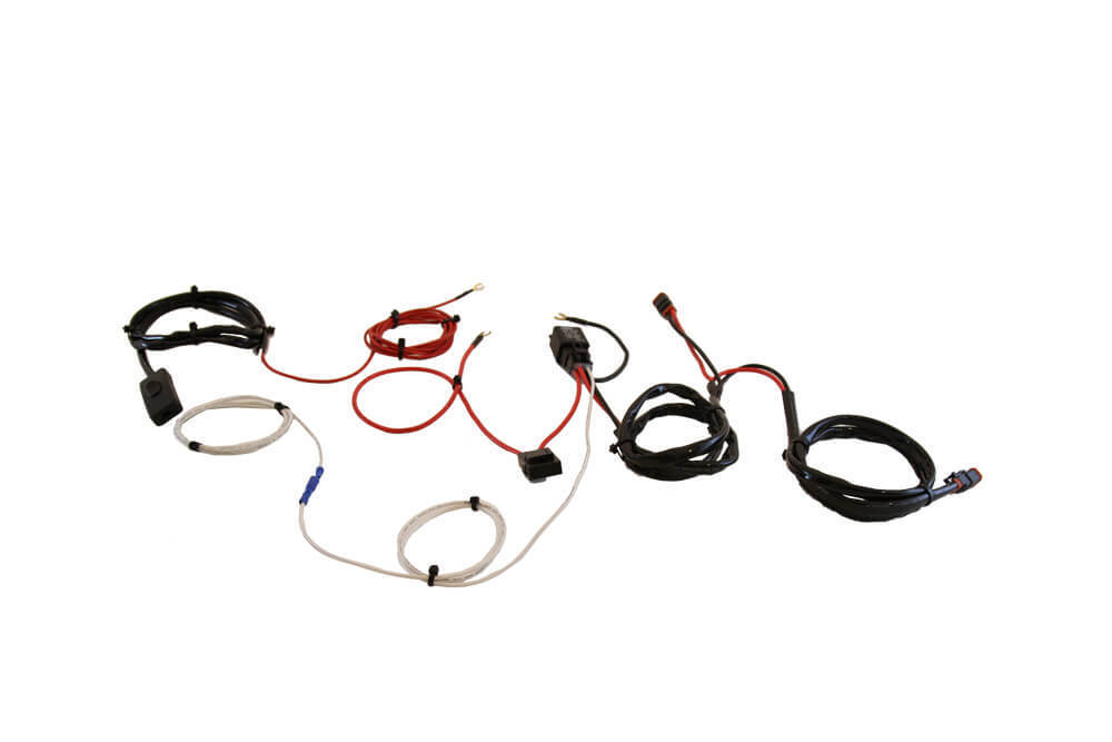 Double Light Wiring Harness